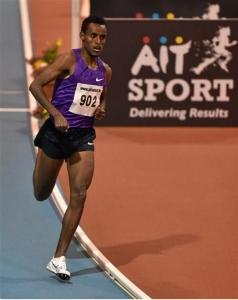 Dawit Wolde 3:54:02 Mile 2016