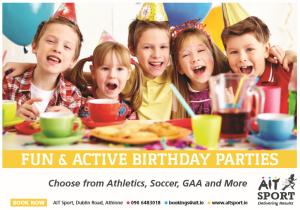 Birthday parties Athlone